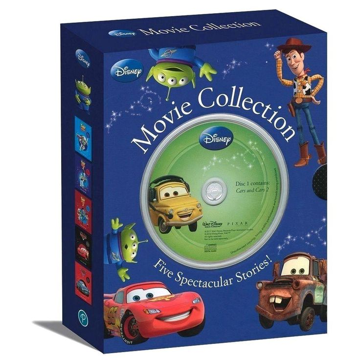 Disney pixar toy story and cars movie collection 5 book