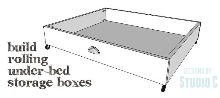 DIY Plans to Build Rolling Under-Bed Storage Boxes_Copy