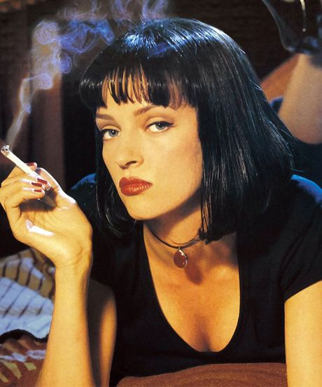 Pulp Fiction Makeup: Like A Shot Of Adrenaline To The Heart #refinery29  http://www.refinery29.com/urban-decay-fall-2014