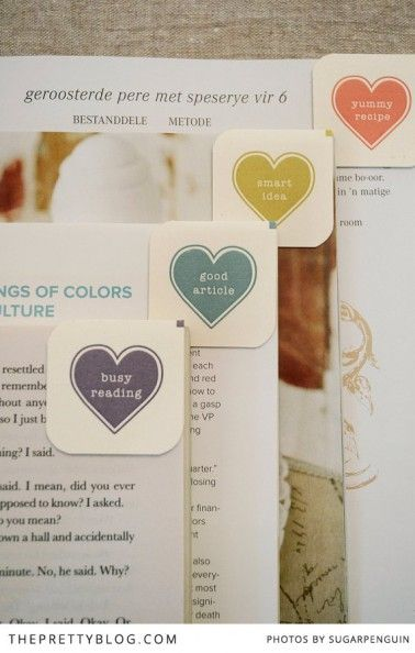 Magnetic Bookmarks DIY