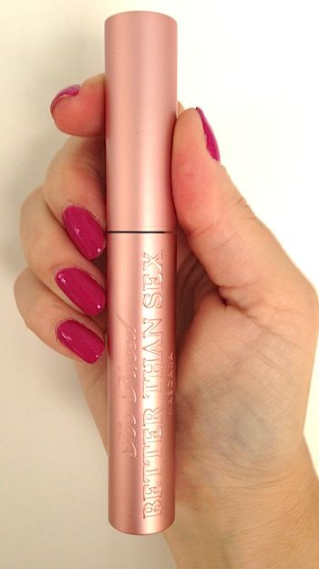 Review, Before/After Comparison Photos: Too Faced Better Than Sex Mascara: Best Curling, Lengthening, 1,944% More Volume - 2014