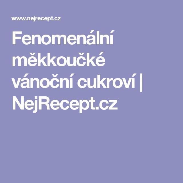 Fenomenální měkkoučké vánoční cukroví | NejRecept.cz