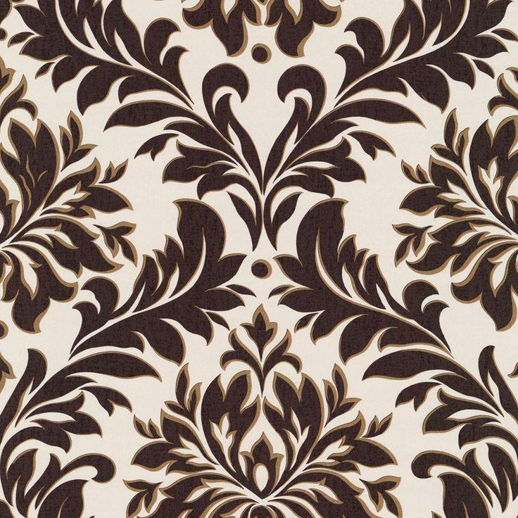 Best Wallpaper Images On Pinterest Stripe Wallpaper - Brown and cream wallpaper