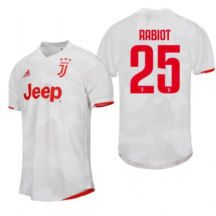 25 Adrien Rabiot 2019 2020 Juventus Away Soccer Jerseys