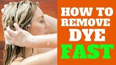 6 TIPS HOW TO GET HAIR DYE OUT OF HAIR - How can i remove hair dye fro...