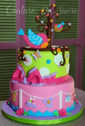 Baby girl cake by Couture Di Sucre