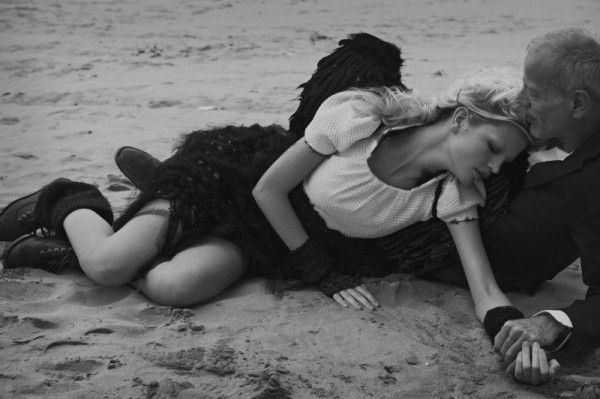 L'Ange by Peter Lindbergh for Numero #127