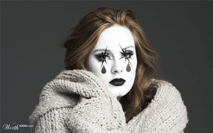 adele sweepstakes 58 best mimes images on pinterest make up looks clowns 3293