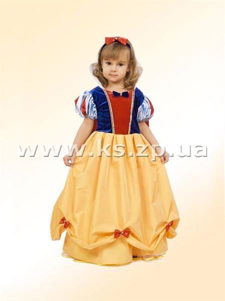 Маскарадный костюм белоснежки для девочки