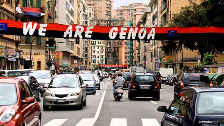 You'll never walk alone....Genoa