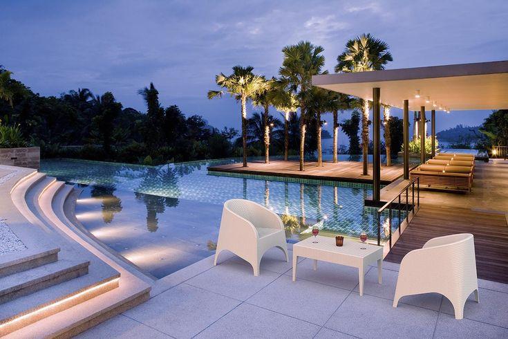 Hotel Grecja Krzesło Siesta Aruba #summer #amazing #view #style #chair #hotel #hagea