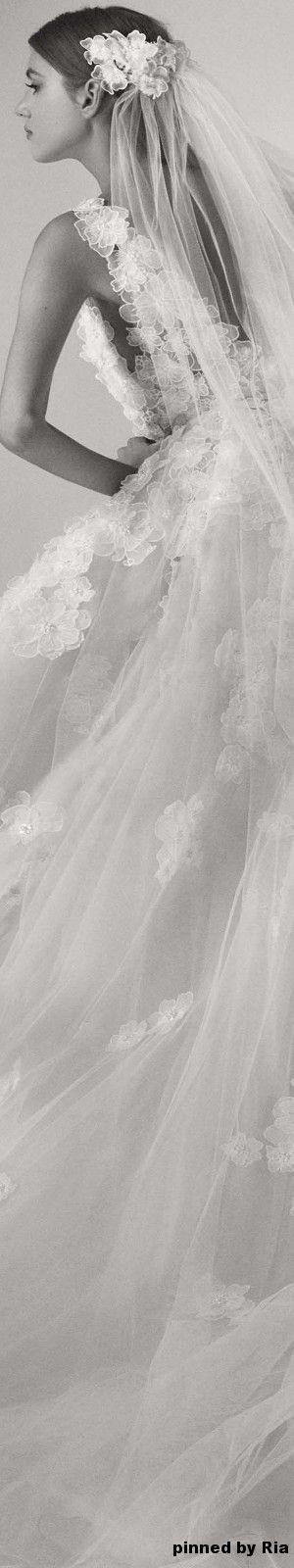 Elie Saab Bridal Fall 2017 l Ria