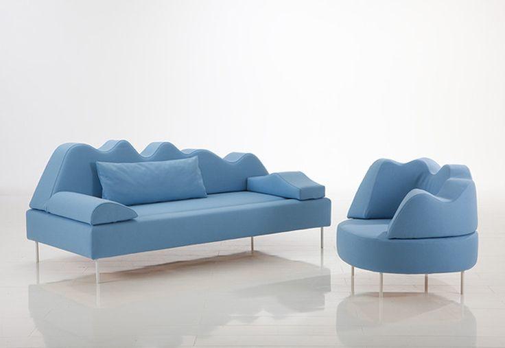 blue furniture sofa design wallpapers