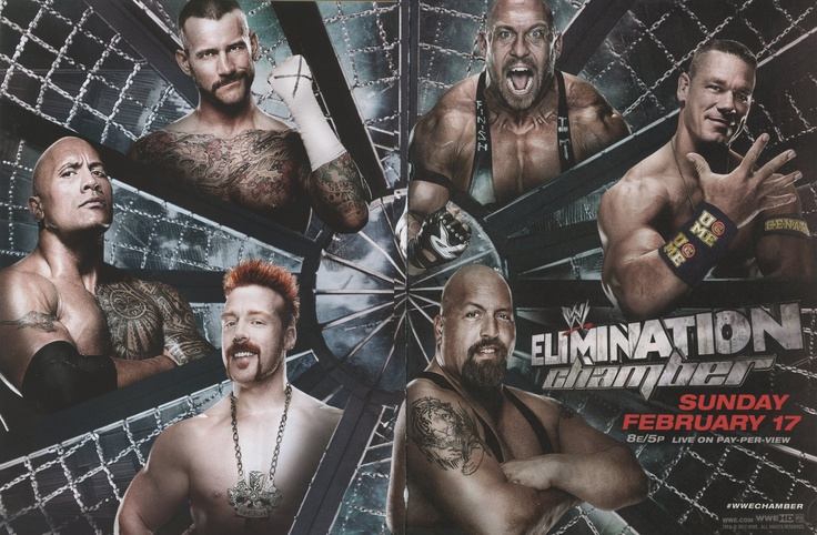 WWE Elimination Chamber 2013 happens live on pay-per-view this Sunday, February ...
