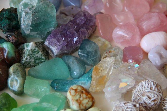 cristales de poder