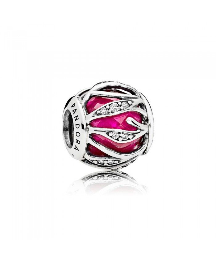 pandora royal red nature s radiance charm