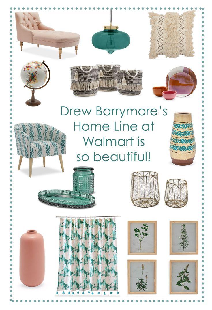 Drew Barrymore's Walmart Home Line Drew Barrymore's