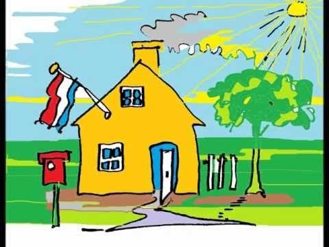 In Holland staat een huis (complete versie, vier coupletten)