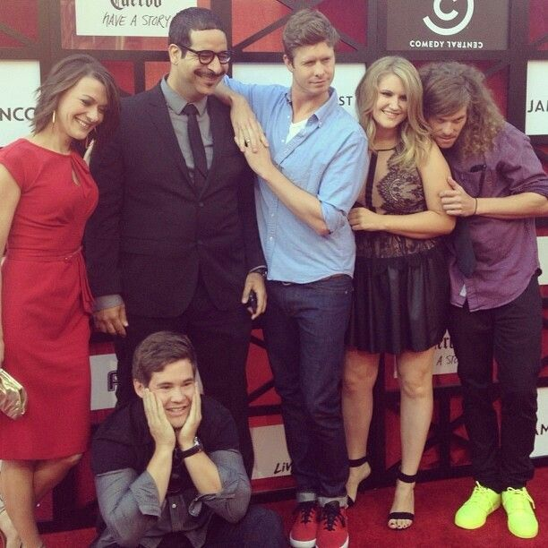 The amazing cast of Workaholics