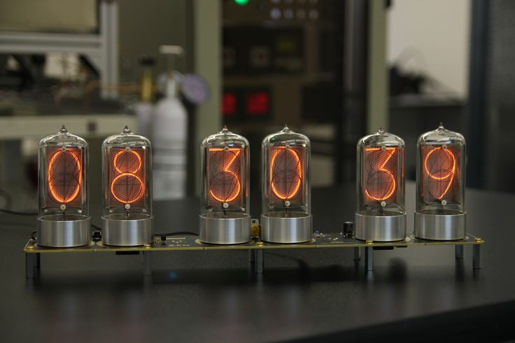 Nixie clocks at DaliborFarny.com | Nixie tube manufacturer