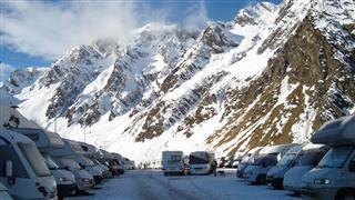 L'aire de camping-car - Piau Engaly, Vacances au ski Pyrénées