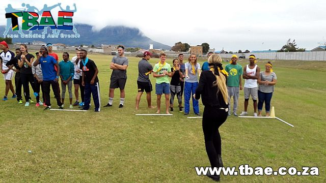 Blindfold Collection Team Building Activity