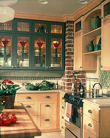 23 best Stained Glass Kitchen Cabinets images on Pinterest | Glass ...