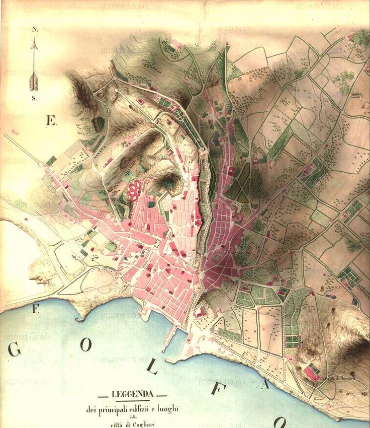 Cagliari, Sardinia, Italy 1858