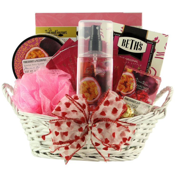 (Red) Passionfruit Spa Retreat: Valentine's Day Gift Basket