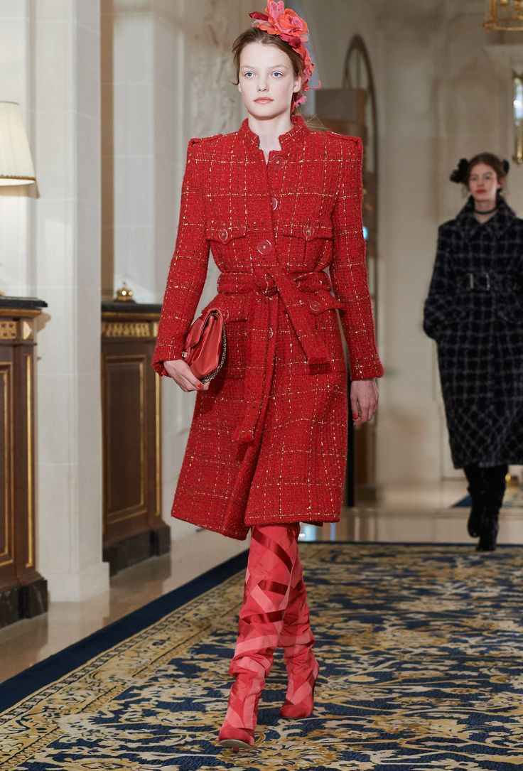 """The spectacular Chanel Métiers d'Art 2017 show at the Ritz in Paris titled """"Paris Cosmopolite"""". The feminine Parisian in silhouettes an homage to """"the evening dresses that women u…"""