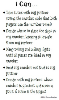 Classroom Freebies Too: Build a Bigger Number: Math Station, Classroom Math, Classroom Freebies, Work Stations, Place Values, Math Place, Math Work