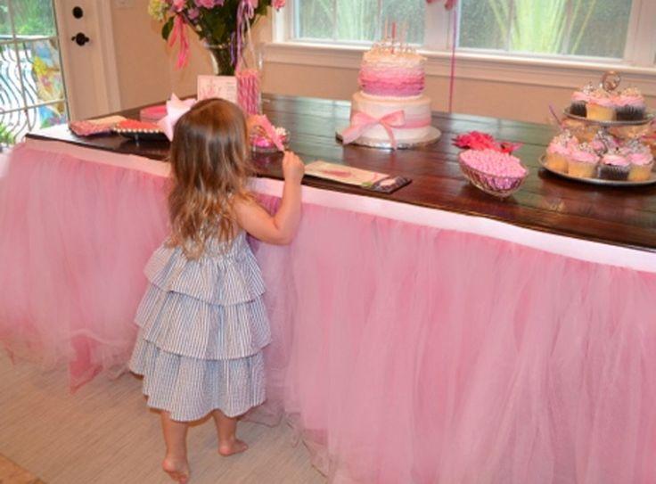 Custom Tulle Tutu Table Skirt Wedding, Birthday, Baby Shower by BaileyHadaParty on Etsy https://www.etsy.com/listing/177802386/custom-tulle-tutu-table-skirt-wedding