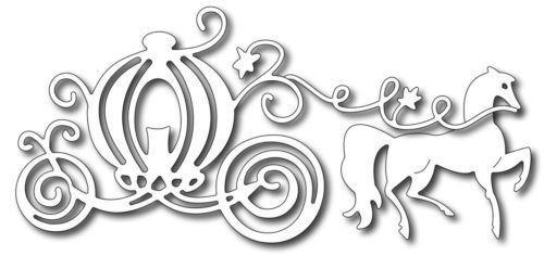 Frantic Stamper Carriage craft die Cinderella by morningsunstudio