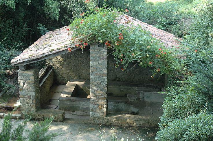 Le lavoir de la Bastide de Ainho Pyrénées Atlantiques