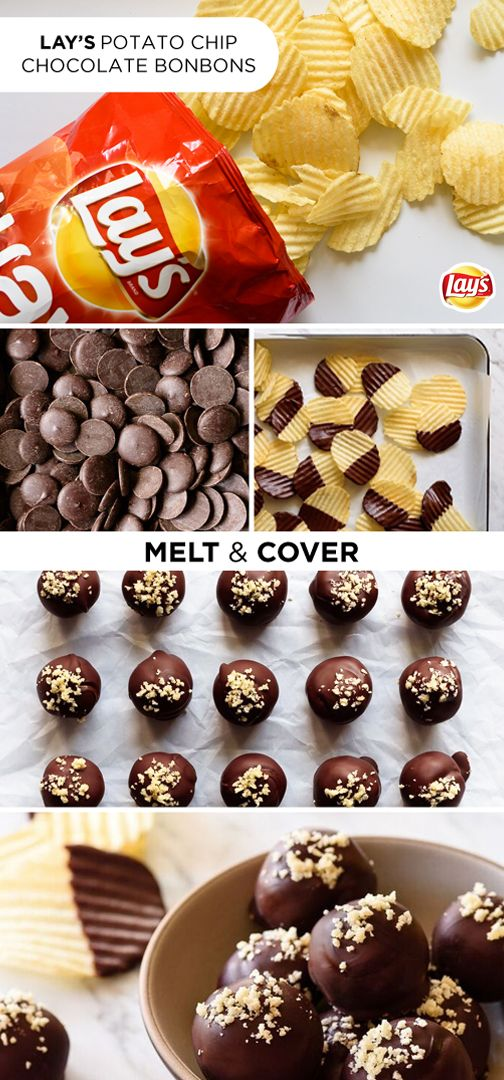 At your next backyard barbeque, surprise everyone with LAY'S potato chip bonbons. They're bite-sized treats the whole family will love! LAY'S potato chip crumbs add the perfect balance of salty and crunchy to the already fantastic duo of chocolate and peanut butter. Click for the full recipe and be prepared to wow your guests with this simple hack!