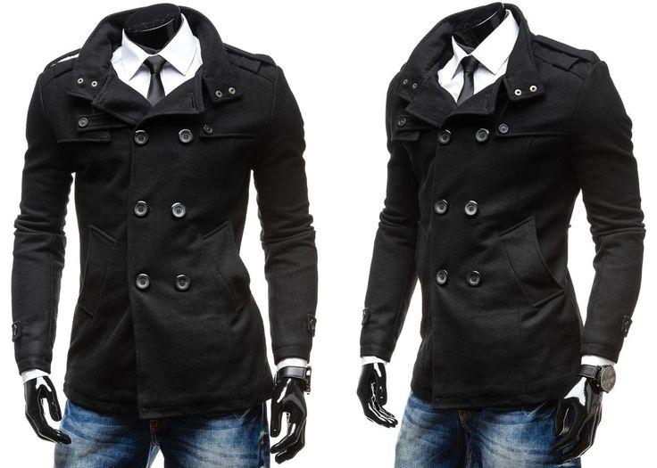 EXTREME MD01 - CZARNY CZARNY | On \ Płaszcze męskie \ Płaszcze ocieplane | Denley - Odzieżowy Sklep internetowy | Odzież | Ubrania | Płaszcze | Kurtki