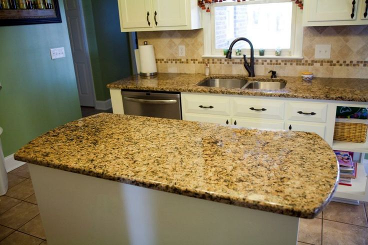 1000 images about mirador gold granite on pinterest for 4x4 travertine tile backsplash