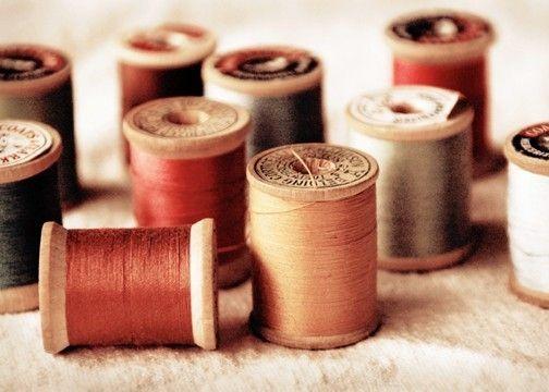 SALE - Vintage Thread --  8x10 -- Print B. $10.00, via Etsy.
