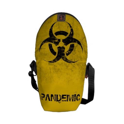 Biohazard Customizable Commuter Bag