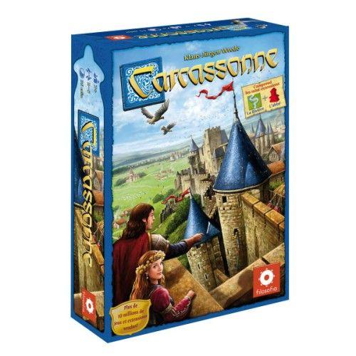 Jeu de société Carcassonne Asmodée pour enfant de 7 ans à 12 ans - Oxybul éveil et jeux