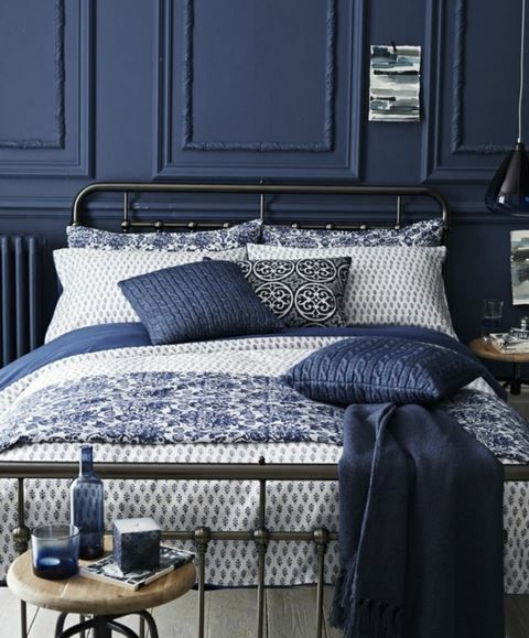 Die besten 25+ Indigo schlafzimmer Ideen auf Pinterest Marine - ruhige farben schlafzimmer