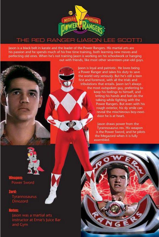 The Red Ranger: Jason Lee Scott