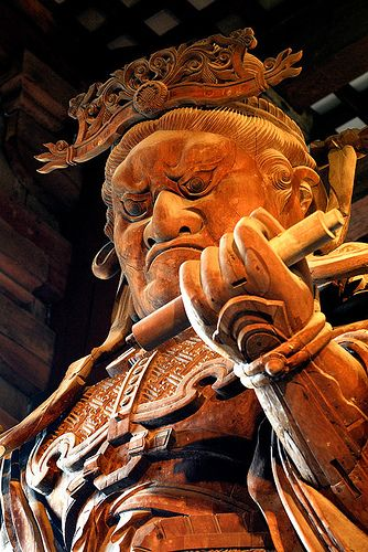 """Todaji""(Todai temple), Nara, Japan - Guardian of the Gate"