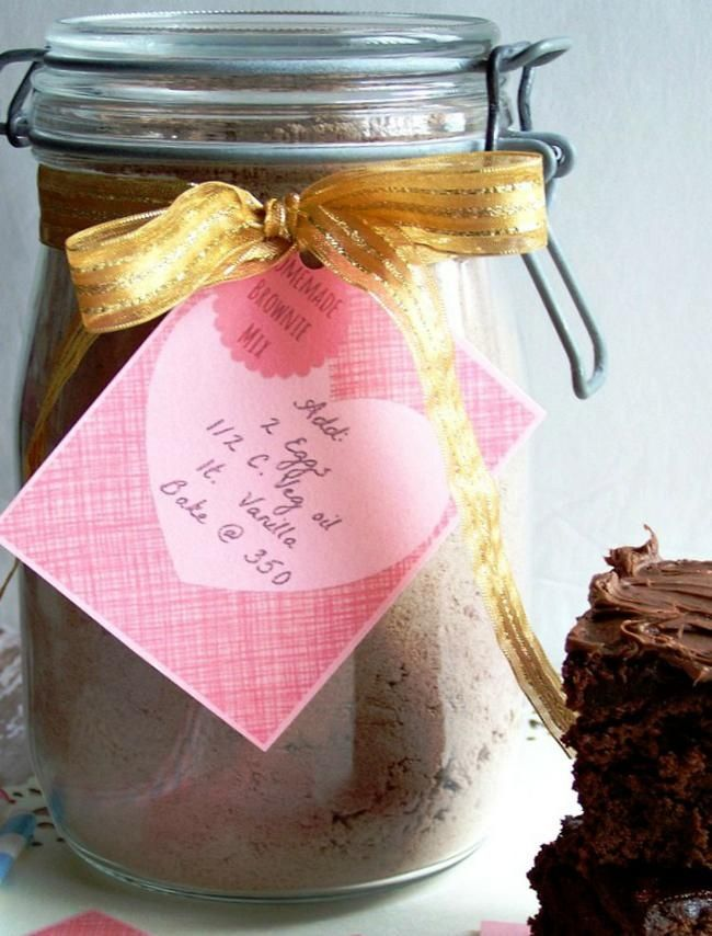 Best Homemade Brownie Mix with labels | Sweets | Pinterest