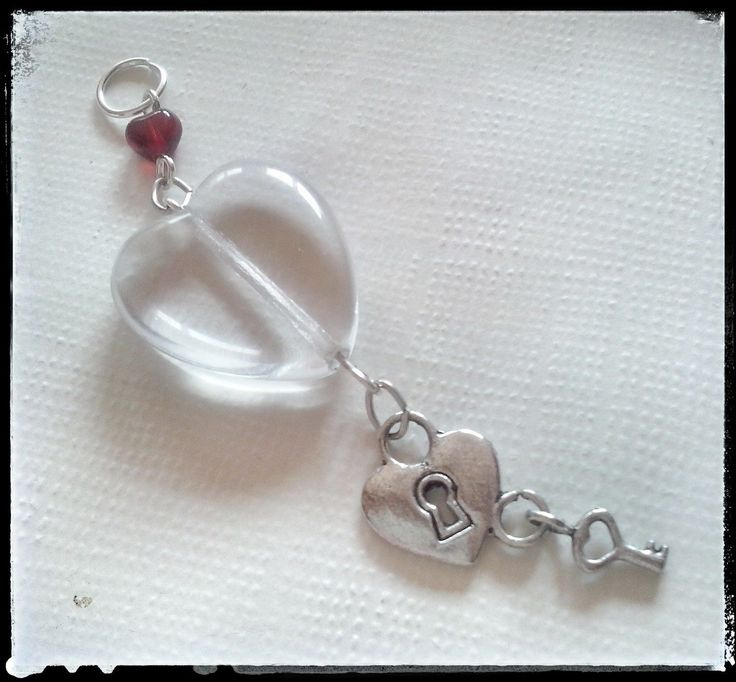 """Lock my Heart"" pendant by Zuzka´s Workshop"
