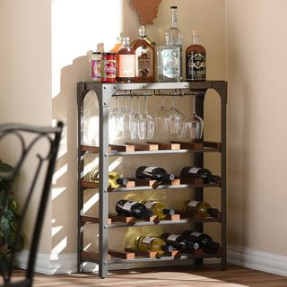 Sonoma Wine Stand Console | Overstock.com Shopping - The Best Deals on Wine Racks
