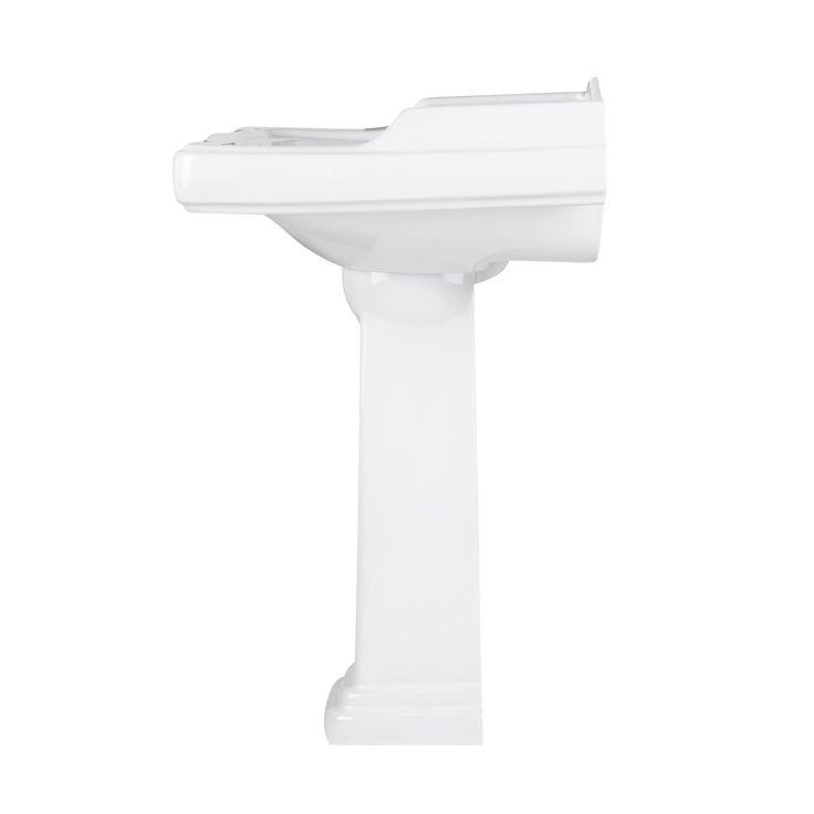 Large Pedestal Sink : Large Dawes Pedestal Sink - Pedestal Sinks - Bathroom Sinks - Bathroom