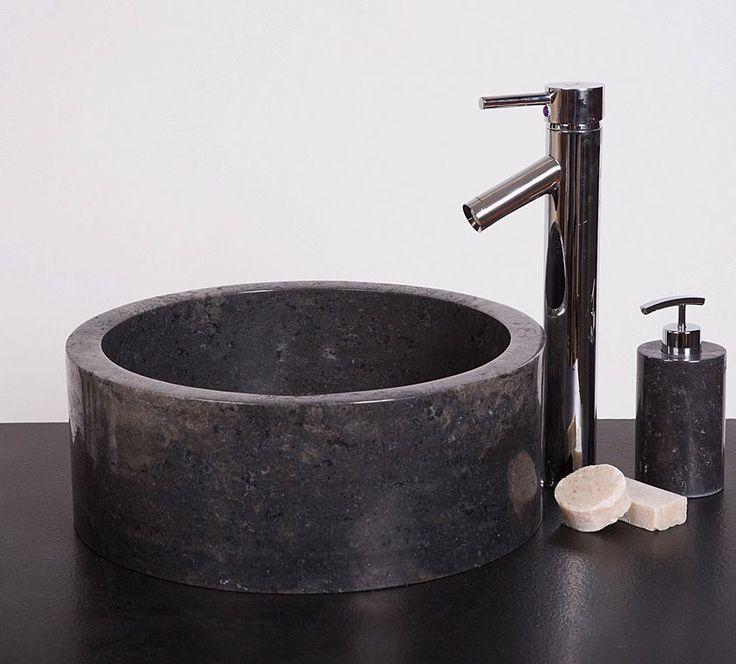 Wastafel Drum Polish Color : Black Size: Ø 40 cm X H. 15 cm Ø 45 cm X H. 15 cm