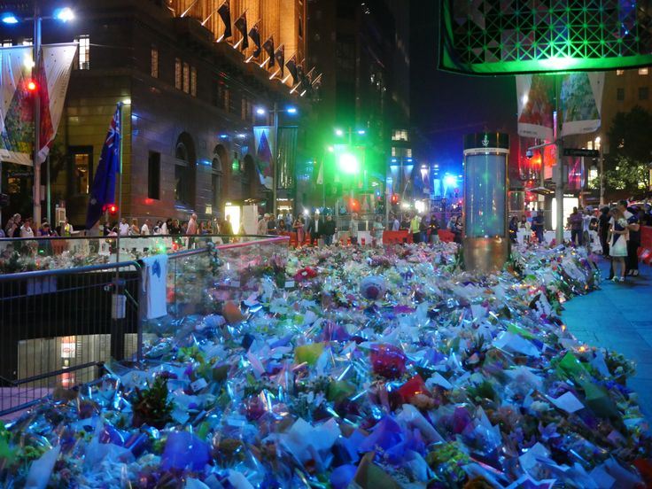 Sydney honors the #MartinPlace victims