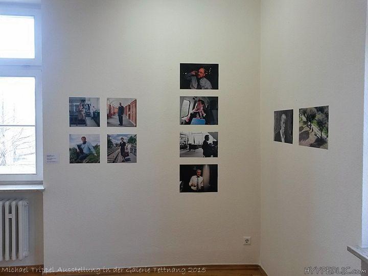 """Obwohl ich einen älteren Mann in der Ausstellung deutlich sagen höre """"Fotografie ist keine Kunst!"""" lasse ich mich von ihm nicht beirren und"""